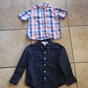 Camisas CHAPS Y OLD NAVY